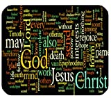 Online Designs Bible Philippians Jesus Christ Christian Cross Green Rectangle mouse pad mousepad 9.84″x7.87″
