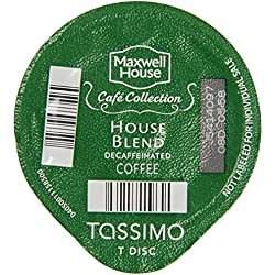 Tassimo House Blend Decaf T-Discs, 16 ct