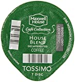 tassimo coffee disc maxwell house - Tassimo House Blend Decaf T-Discs, 16 ct