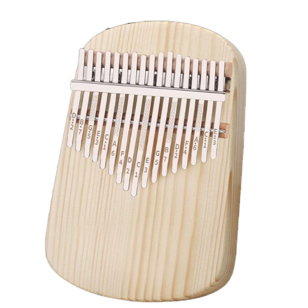Hot 17 Key Marimba Thumb Piano Kalimba Mbira African Musical Instrument Calimba Finger Marimba Wood Musical Instrument Marimbas (Size : A) by ZJY