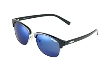 Sinner Erwachsene Sonnenbrille Cascais Clubmaster Polycarbonat, Schwarz, SISU-720-10-48