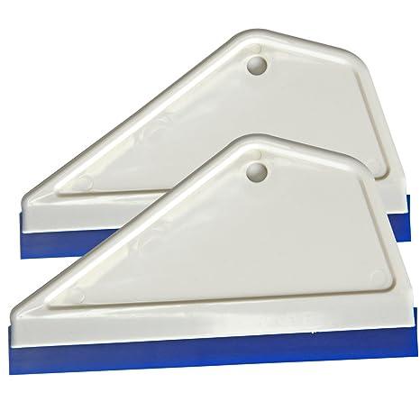 ehdis® Super Flex agua hoja rasqueta de silicona para ventana de coche cristal limpieza lavado