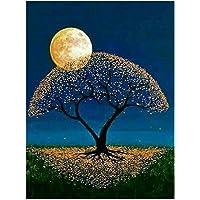 Zibuyu Moon 5D Full Diamond Painting Craft Embroidery DIY Cross Stitch Home Decor