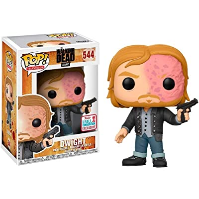 Funko Pop! Television #544 The Walking Dead Dwight (2020 Fall Convention Exclusive): Toys & Games