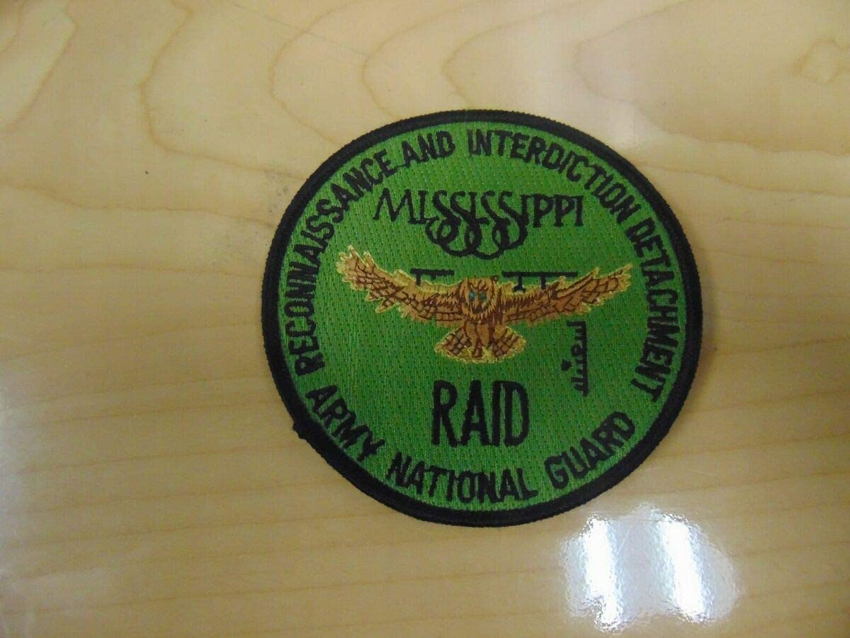 Military Patches for Man & Woman US Army Patch Military Reconnaissance and Interdiction Detachment Army National Guard