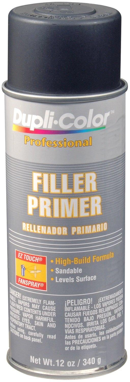 Dupli-Color Paint Dpp106 Filler Primer-Black 12oz Duplicolor Paint
