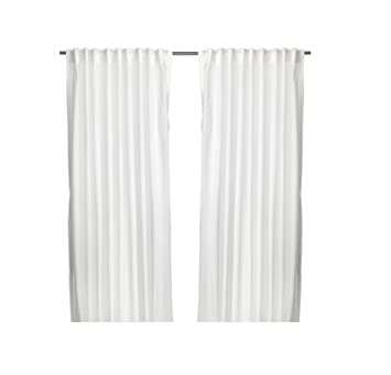 Ikea Gardinen Set Vivian Zwei Weiße Gardinenschals In 300 X 145