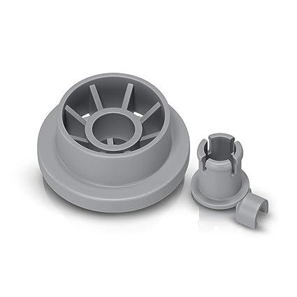 Für Bosch Siemens Neff Geschirrspülmaschinen-Korb Korbrad Ersatz Ersatzteil