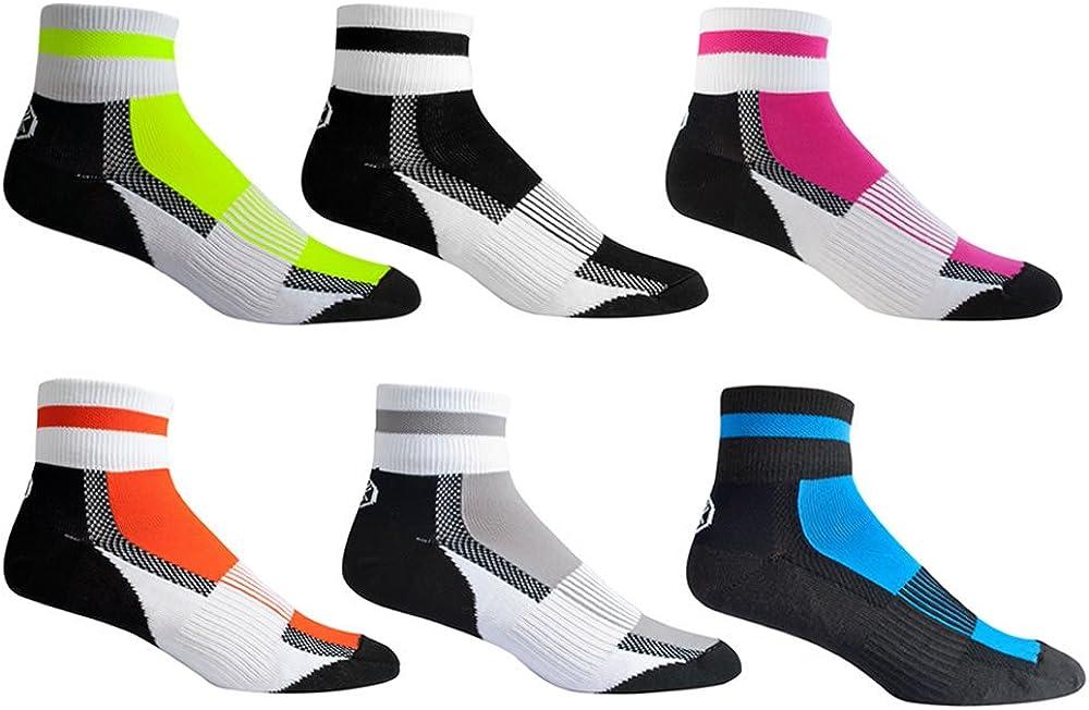 AERO|TECH|DESIGNS Coolmax Socks All Season Quarter Crew Made in USA