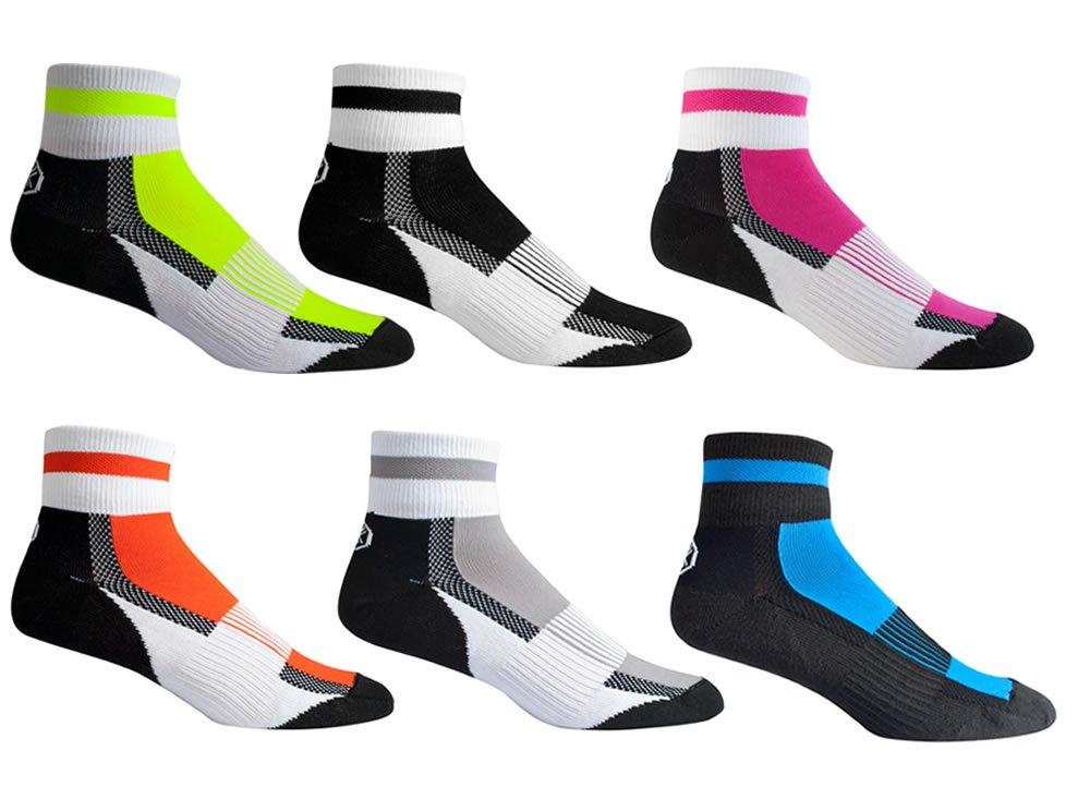 AERO|TECH|DESIGNS Coolmax All Season Quarter Crew Socks