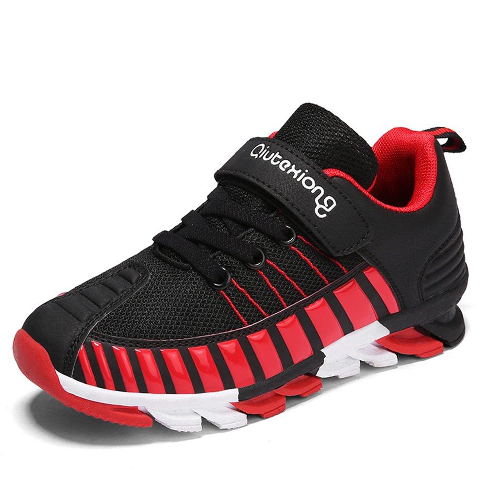 Qiutexiong - Zapatillas de Running de Malla para Niño
