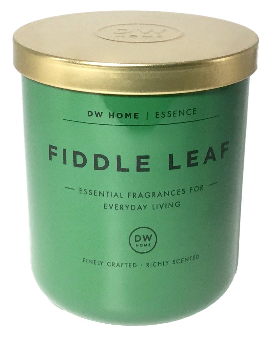 Dw Home Fiddle Leaf Soy Wax Blend Candle Essential Fragrances For Everyday Living
