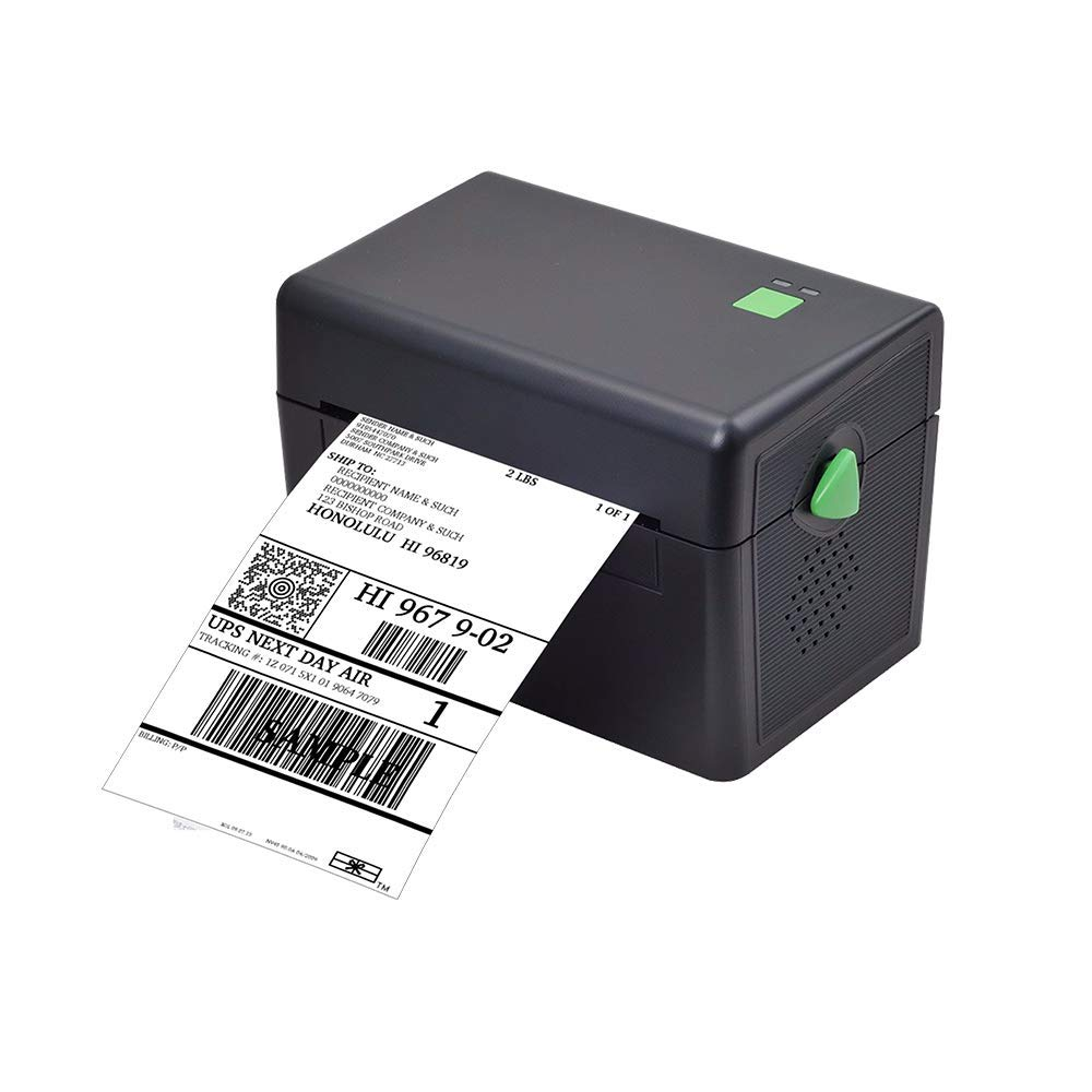 Mini Label Printer, 4x6 Thermal Printer, Commercial Direct Thermal High Speed USB Port Label Maker Machine, Etsy, Ebay, Amazon Barcode Express Label Printing