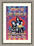 Framed Art Print 'Led Zeppelin & Alice Cooper, 1969: Whisky-A-Go-Go, Los Angeles' by Dennis Loren