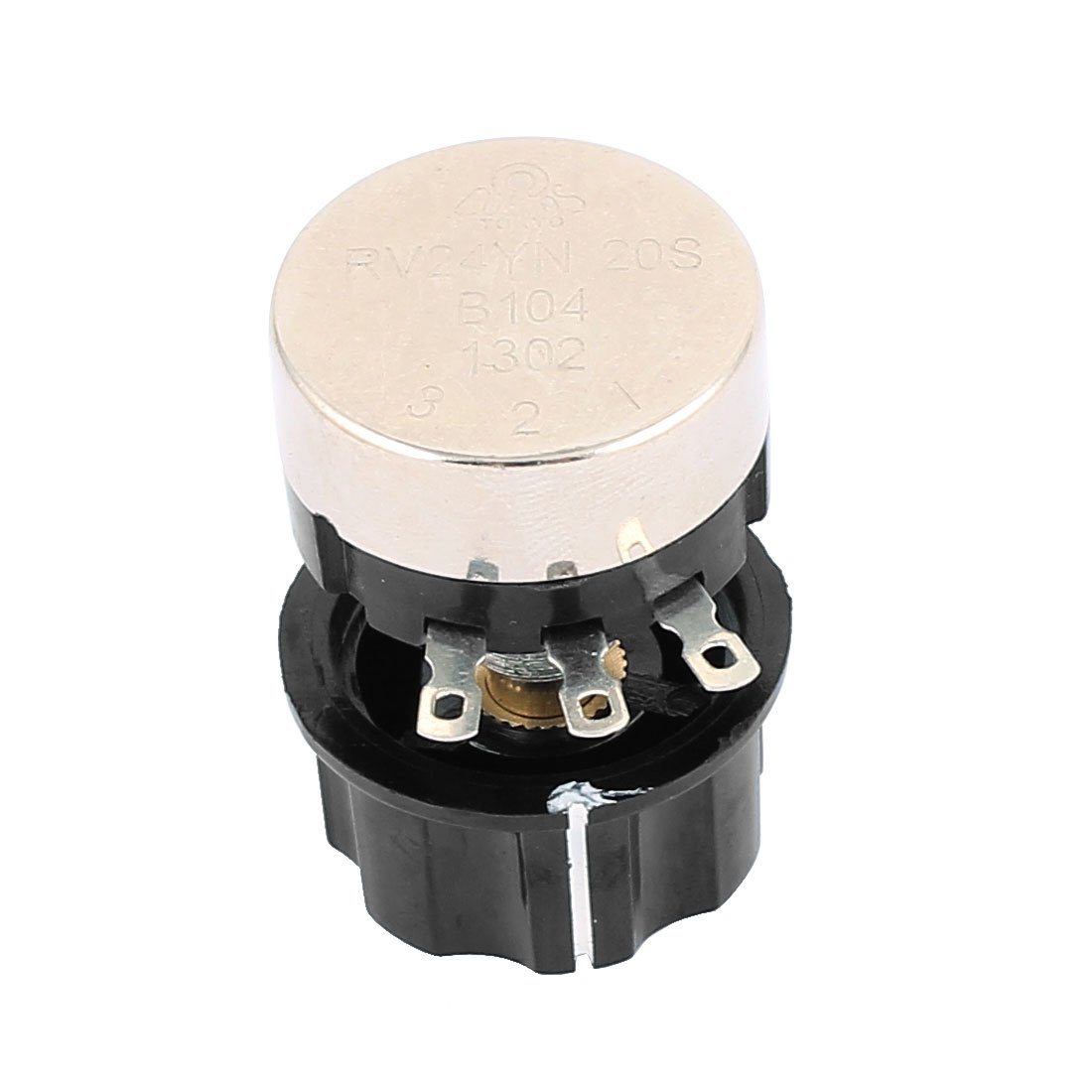 uxcell/® RV24YN20S B102 1K Ohm Resistor 3 Soldering Terminals Wire Wound Potentiometer