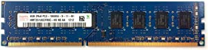 4GB DDR3 PC3-10600 1333MHz CL9 1.5v 240-Pin Hynix HMT351U6CFR8C-H9 Unbuffered desktop memory ram