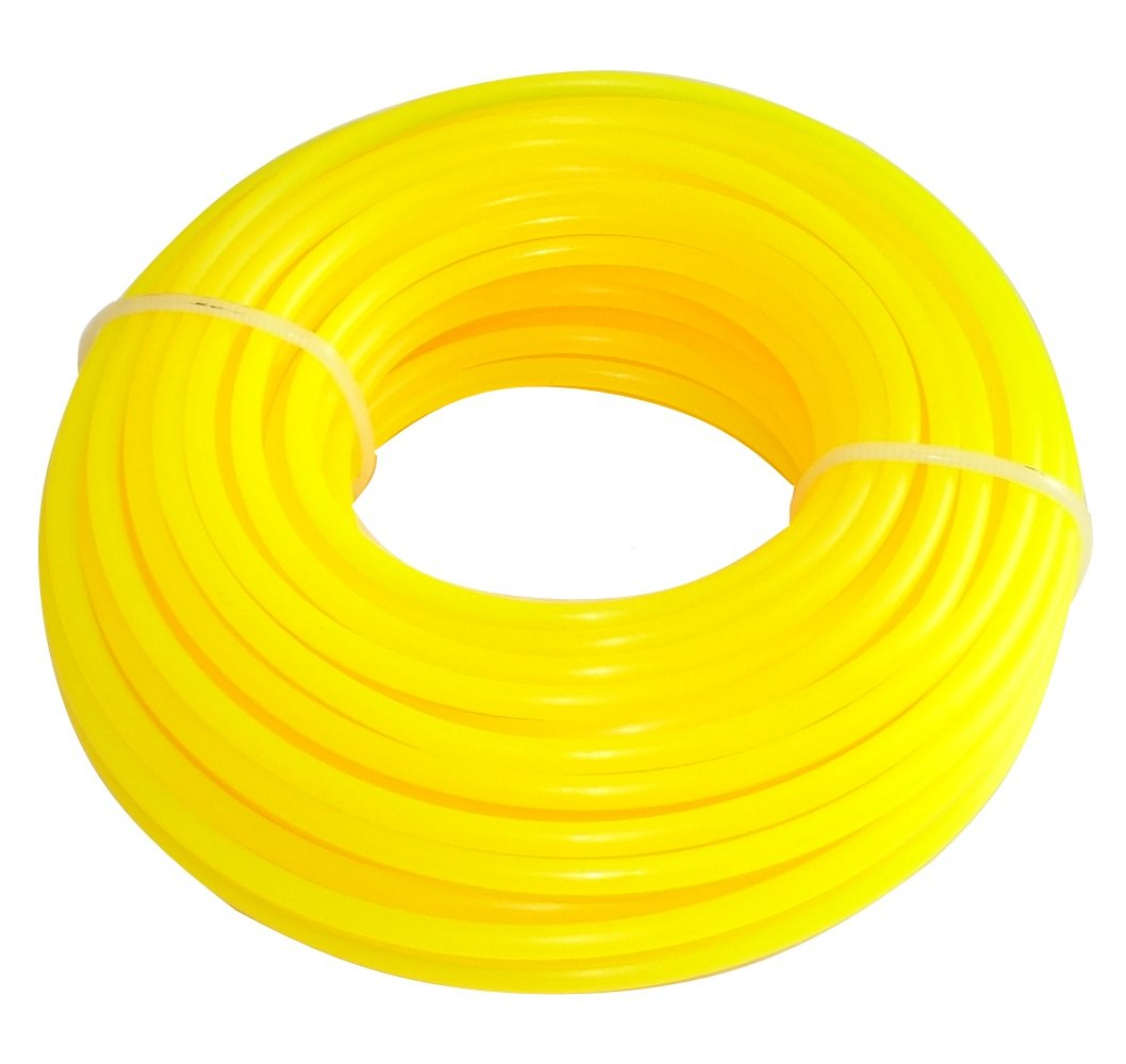AERZETIX: Hilo de nylon perfil redondo 3mm 15m para desbrozadora C18550 C18550-AZ37