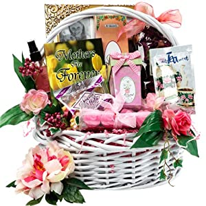 B0004QD872 Art of Appreciation Gift Baskets   Medium Mothers Are Forever Tea and Snacks