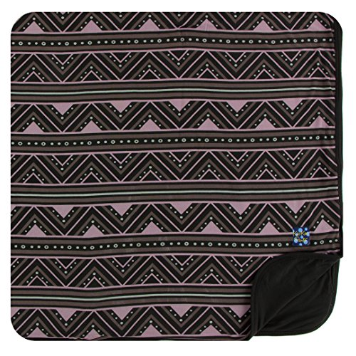 (Kickee Pants Little Boys Print Toddler Blanket - African Pattern, One Size)