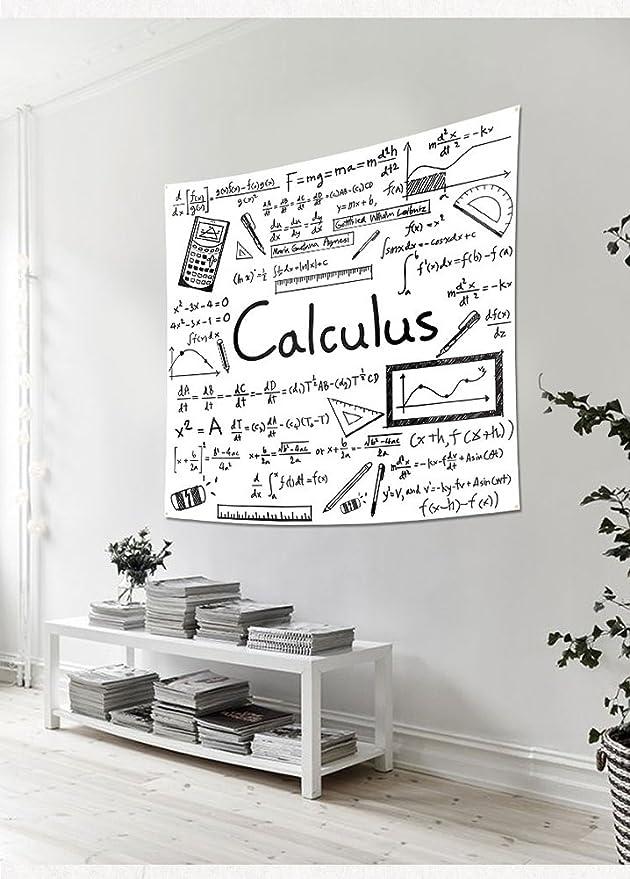 Amazon.com: Lldaily Math Tapestry Wall Hanging Decro ...