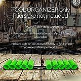 Olsa Tools | Wall Mount Plier Holder Organizer