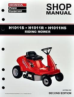 amazon com honda hr21 5 hr215 lawn mower service repair shop rh amazon com Honda Lawn Mower Schematic Honda Lawn Mower Parts