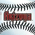 "Amscan Baseball Dream Arizona Diamondbacks Party Beverage Napkins (36 Piece), Red/Black/White, 5 x 5"""