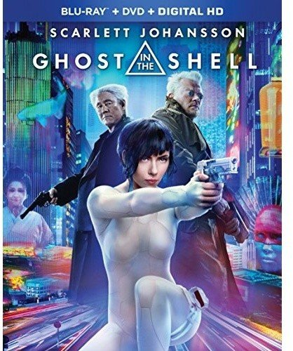Ghost in the Shell (2017) [Blu-ray] (Best Horror Action Anime)