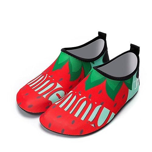 Nclon Hombre Mujer Zapatos de Agua Descalzo Aqua Calcetines.Aqua Playa de Piscina Yoga Acuàticos