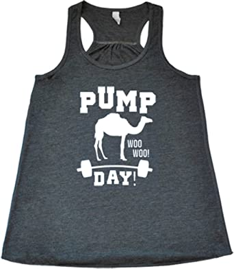 e1611fcb Amazon.com: Constantly Varied Women's Pump Day Woo Woo Tank Top: Clothing
