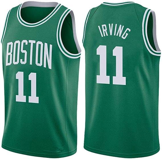 SEYE1° Uniforme De Baloncesto Unisex,Boston Celtics # 11, Irving ...