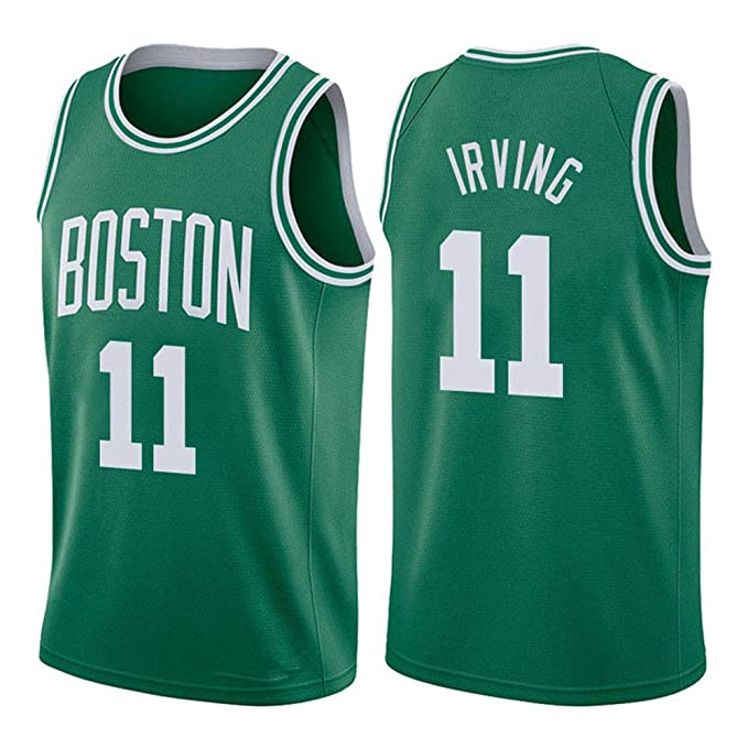 SEYE1° Uniforme De Baloncesto Unisex,Boston Celtics # 11 ...