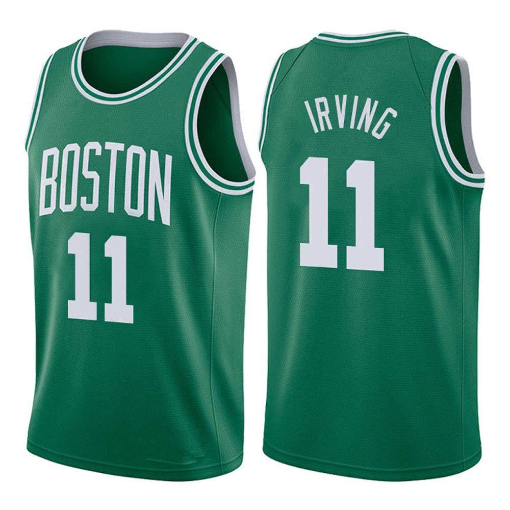 SWCN Boston Celtics # 11, Irving 2019 NBA Jersey, Camisetas De Baloncesto Niños, Sudadera De Baloncesto: Amazon.es: Ropa y accesorios
