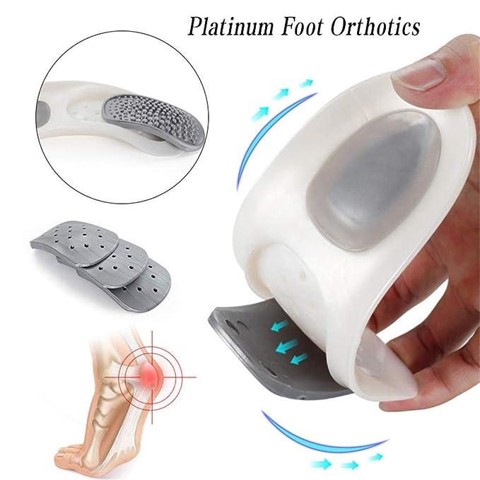 W 6-11.5//M 7-10.5 Platinum Foot Orthotics Walk Platinum Orthotics Size G