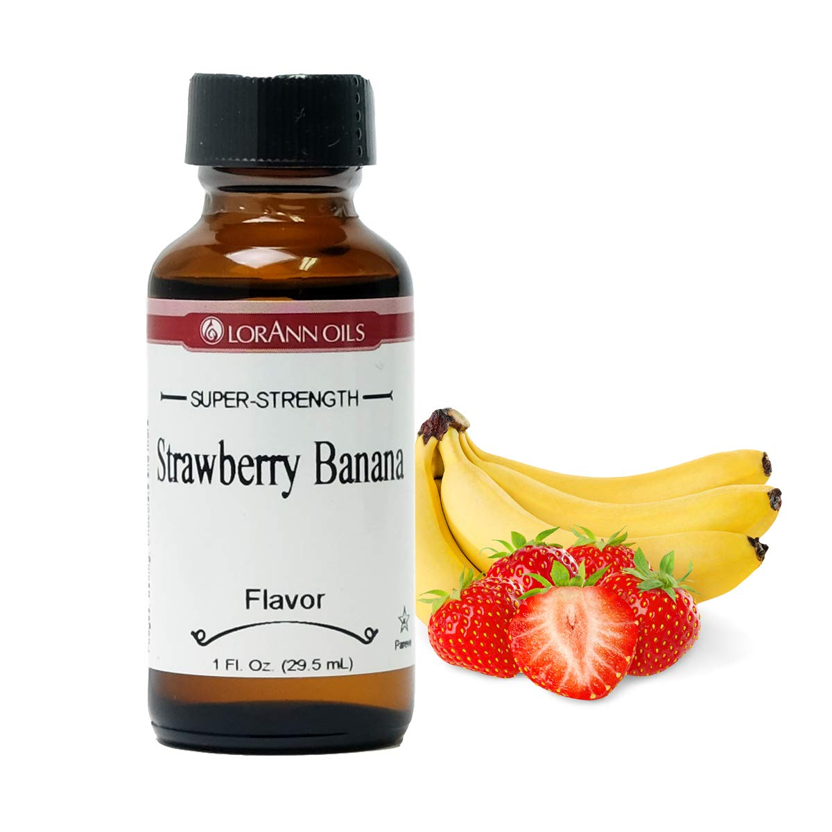 Strawberry/Banana Flavor 1 Ounce by LorAnn Oils
