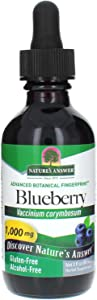 Natures Answer's Blueberry Fruit Extract Alcohol Free 2oz.