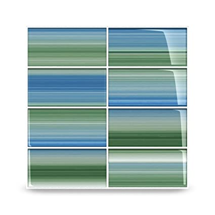 Green and Blue\