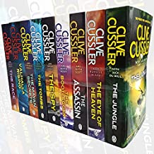 Clive Cussler Collection 9 Books Set (The Jungle, The Eye of Heaven, The Assassin, The Bootlegger, The Spy, The Tombs, The Mayan Secrets,Valhalla Rising, The Race)