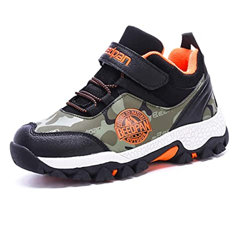 637eb470671eb Amazon.com: LGXH Youth Kids Winter Warm Outdoor Hiking Boots Non ...