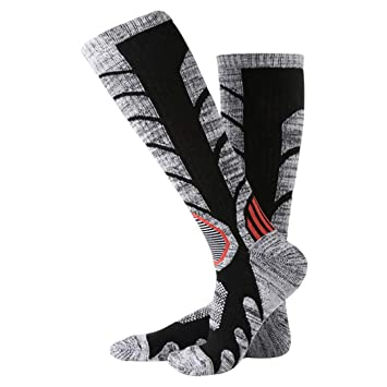 LKIHHBN Winter Warm Men Women Thermal Ski Calcetines Thick Cotton Snowboard Cycling Skiing Soccer Socks Leg