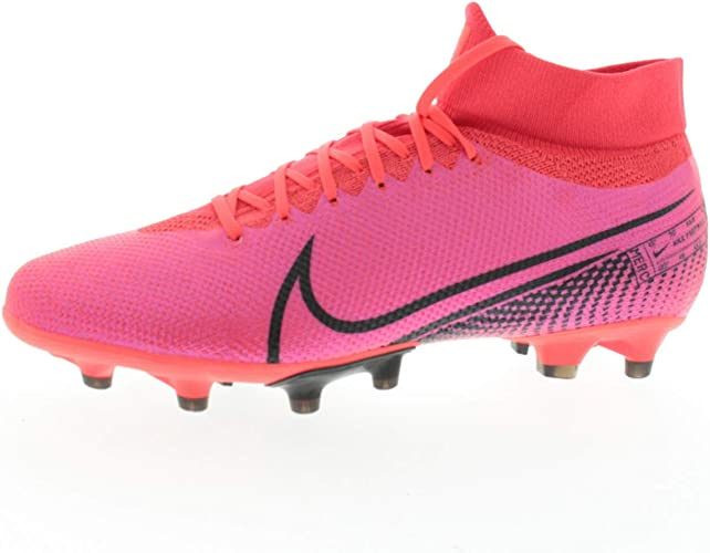 Cabeza Gallina clásico  Nike Football boots men's shoes Mercurial Superfly 7 Pro AG pink AT7893,  size shoes adults: 45.5, colour: Nike: pink.: Amazon.co.uk: Shoes & Bags