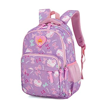 4c92263654f Amazon.com | Waterproof Children For Girls Schoolbag Kids Book Bags ...