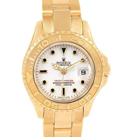 Rolex Yacht-Master Automatic-Self-Wind 69628 - Reloj de Pulsera para Mujer: Rolex: Amazon.es: Relojes