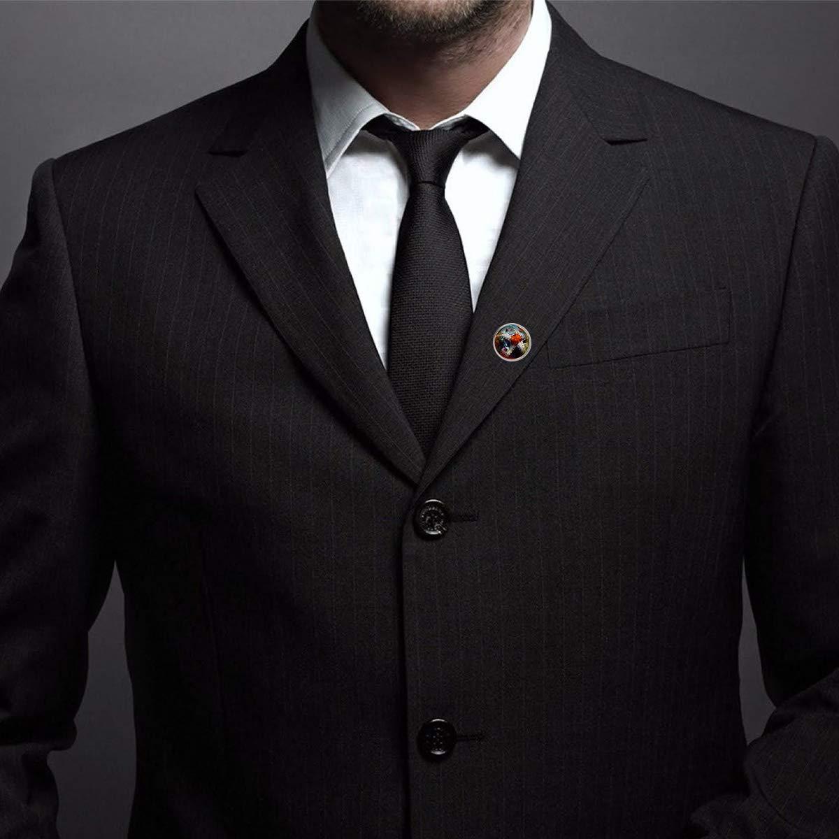 Custom Lapel Pin Brooches Orange Starfish Banquet Badge Pins Trendy Accessory Jacket T-Shirt Bag Hat Shoe