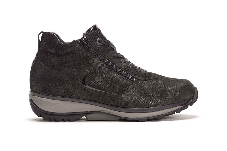 XSENSIBLE Filly Stiefelie, Stretch-Leather, schwarz Movida, Vario-Fussbett, Weite GX 30026.2.059