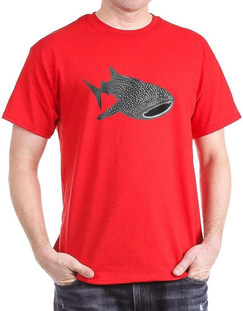 CafePress Whale Shark Diver Diving Scuba Cotton T-Shirt