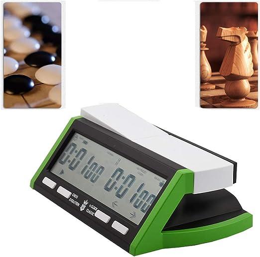 YUSDP Reloj Digital Profesional de ajedrez - con función de Alarma ...