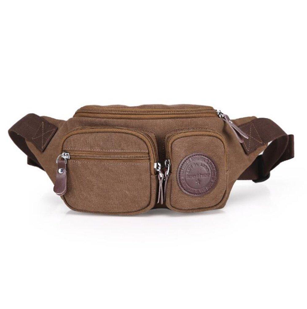 Wmshpeds Multi-funktionelle Taschen Männer lässig Canvas Shoulder Bag fashion Brust Tasche weiblichen Outdoor Handy Taschen