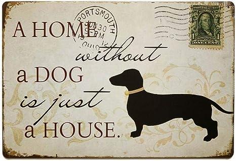 Metal Sign Great Dane CUSTOM DOG NAME Vintage Look