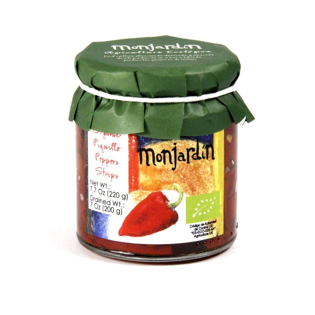Monjardin Organic Fire-Roasted Piquillo Pepper Strips (7 oz/200 g)